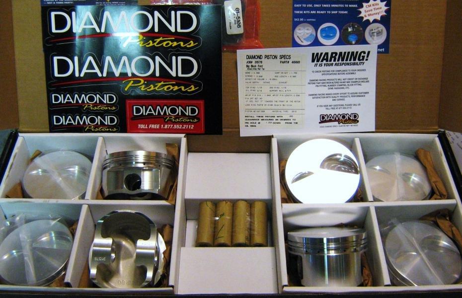 DIAMOND PISTON CLEARANCE SALE Attachment